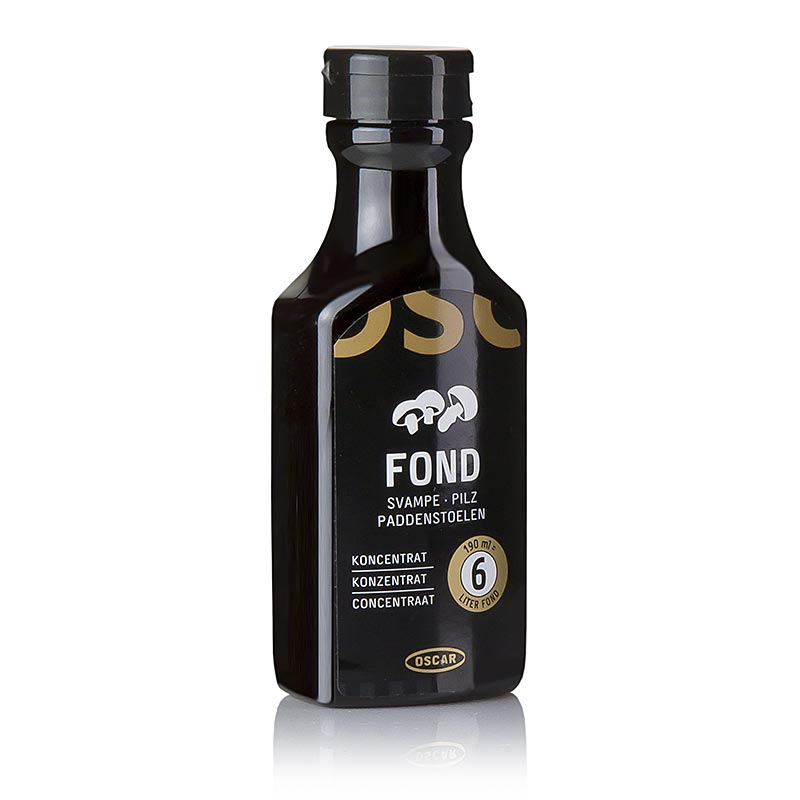 OSCAR Fond svamp koncentrat, flydende (6 liter) - 190 ml - PE-flasker
