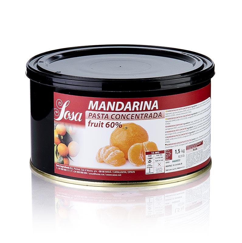 e2de95581bba Pâte de mandarine, Sosa - 1,5 kg - Pe-dose