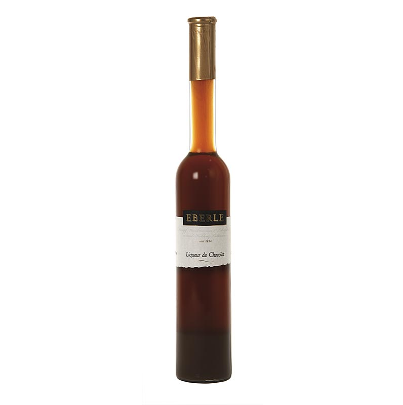 Liqueur de Chocolat, chocolate liqueur, brown, 17% vol., Eberle - 350 ml - bottle