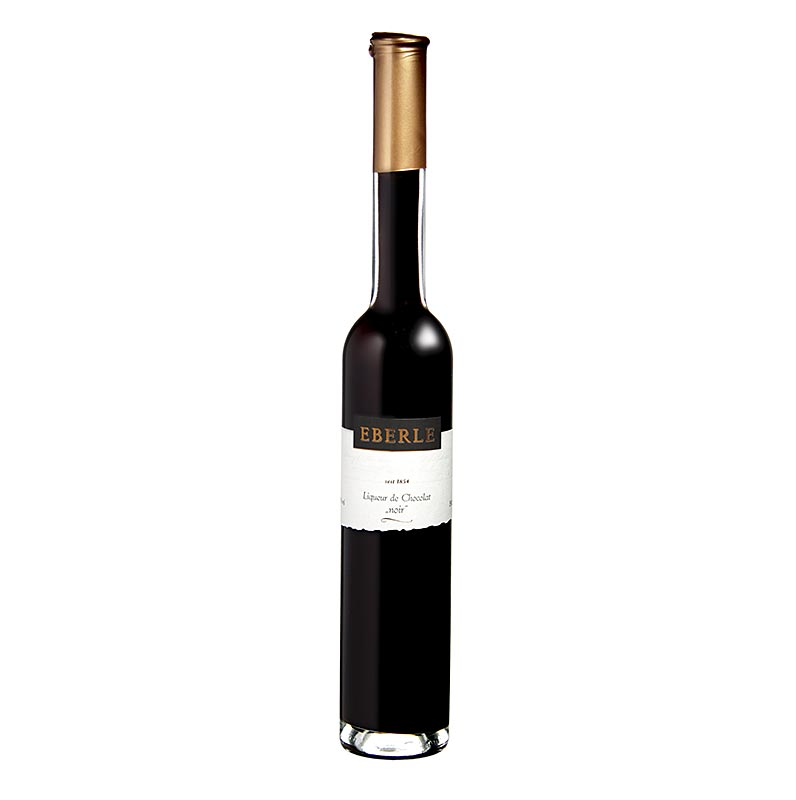 Chocolat noir, chocolate liqueur, dark, Eberle, 17% vol. - 350 ml - bottle