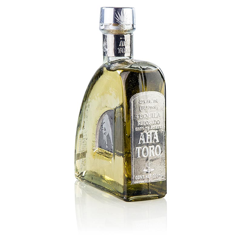 Aha Toro Reposado Tequila, 9 months Jack Daniels barrel, 40% vol. - 700 ml - bottle