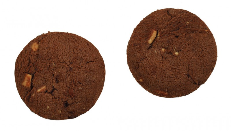 Biscuit with three types of chocolate, tin, Triple Chocolate Chunk Biscuit, Tin, Cartwright and Butler - 200 g - can