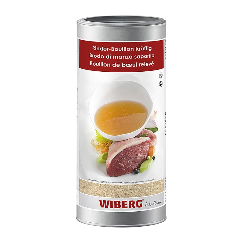 Wiberg Rinder-Bouillon, kräftig, für 50 Liter - 1,1 kg - Aroma-Tresor