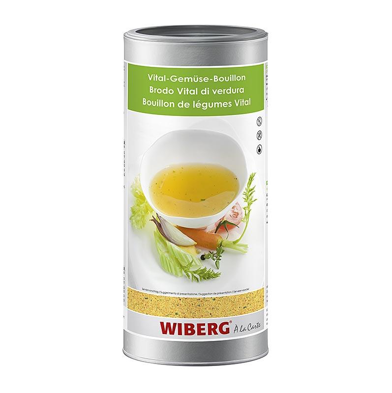 Wiberg Vital-Gemüse Bouillon, für 54 Liter - 1,2 kg - Aroma-Tresor