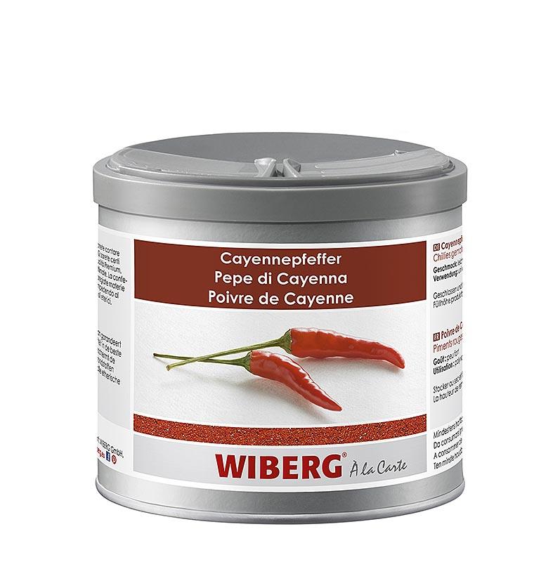 Wiberg Cayennepfeffer, Chillies gemahlen - 260 g - Aroma-Tresor