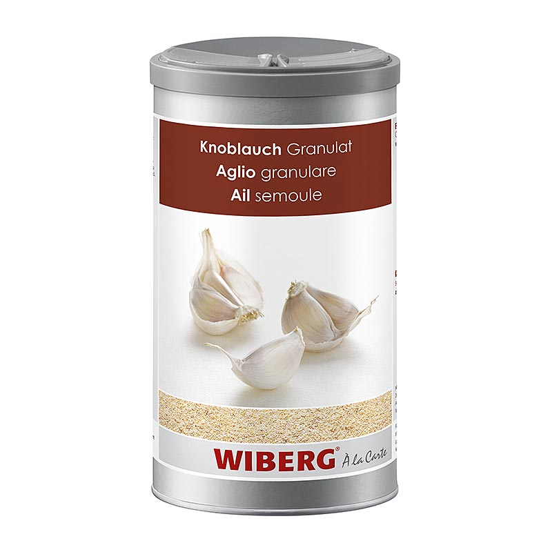 Wiberg Knoblauch Granulat - 870 g - Aroma-Tresor