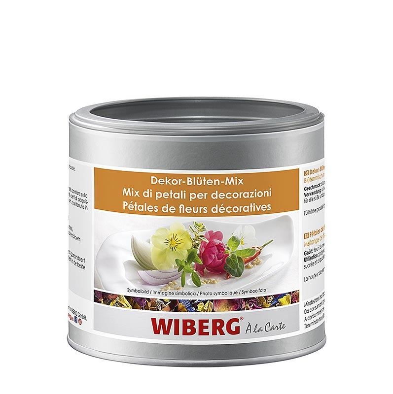 Wiberg Dekor-Blüten-Mix, Blütenmischung - 35 g - Aroma-Tresor