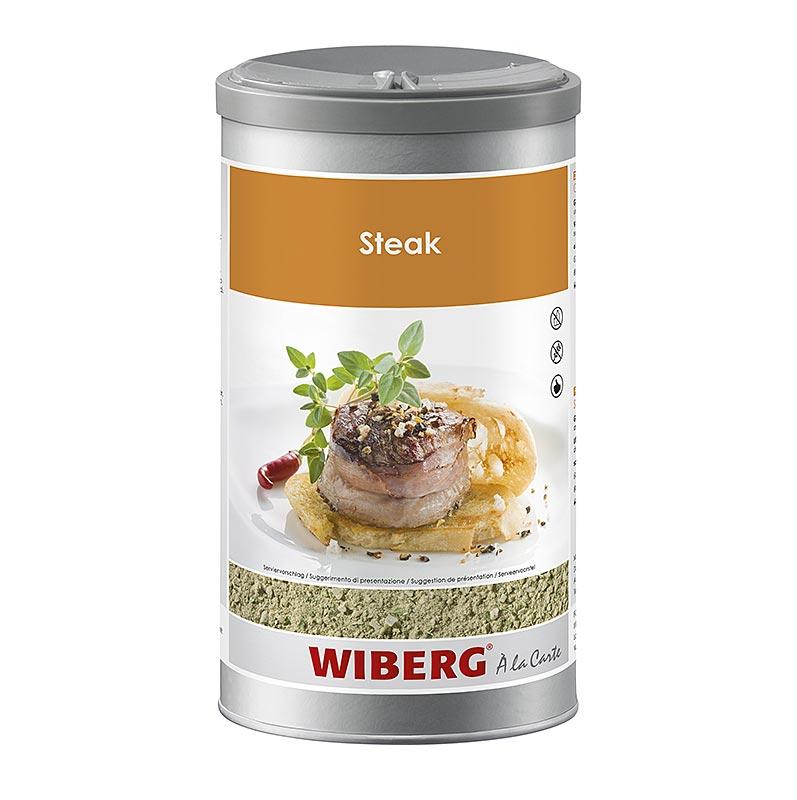 Wiberg Steak Gewürzsalz mit Kräutern, grob - 950 g - Aroma-Tresor