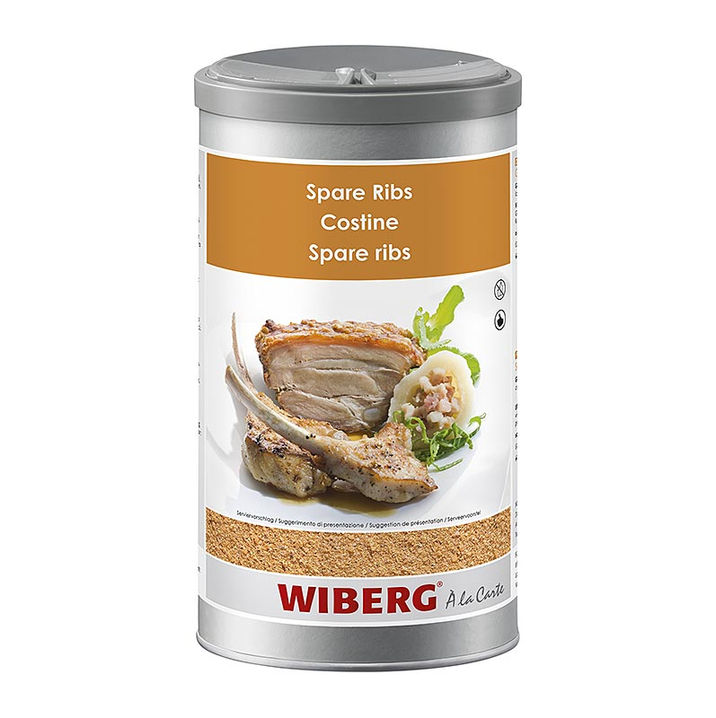 Wiberg Spare Ribs, Würzmischung - 1050 g - Aroma-Tresor