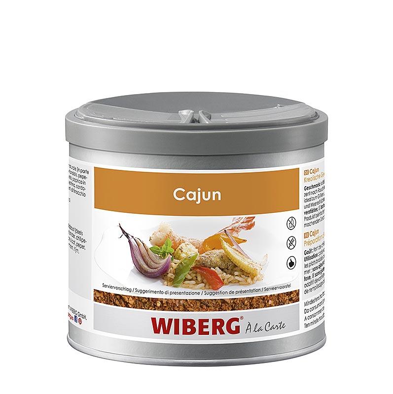 Wiberg Cajun, Kreolische Gewürzzubereitung, für französisch inspirierte Lousianaküche - 280 g - Aroma-Tresor