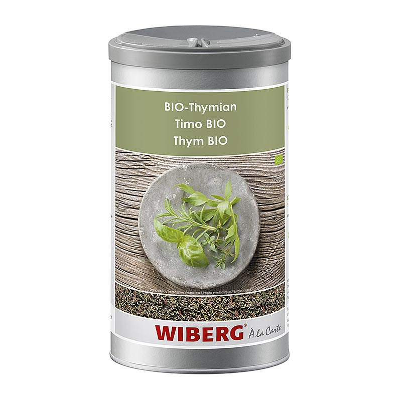 Wiberg Bio-Thymian getrocknet, gerebelt, BIO-zertifiziert - 240 g - Aroma-Tresor