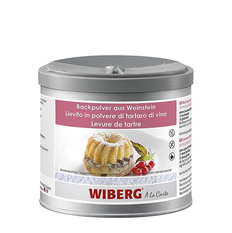 Wiberg Backpulver aus Weinstein, ohne zugesetztes Phosphat - 420 g - Aroma-Tresor