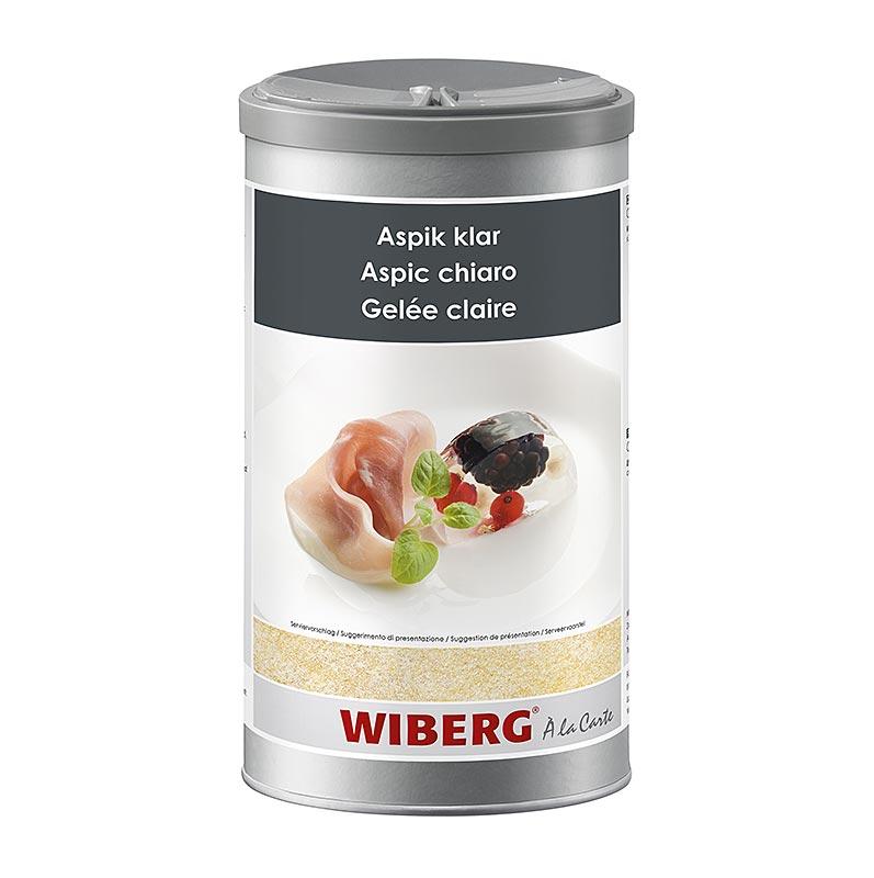 Wiberg Aspik Klar, Gelatine, geschmacksneutral, für 16 Liter - 800 g - Aroma-Tresor