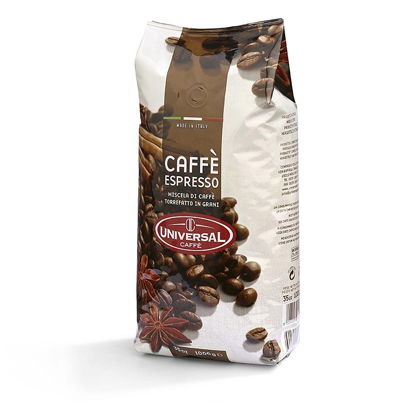 Espresso Universal, ganze Bohnen - 1 kg - Aromatüte