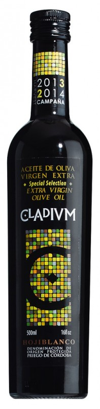 Extra virgin olive oil Cladium, Natives Olivenöl extra Cladium, Aroden - 500 ml - Flasche