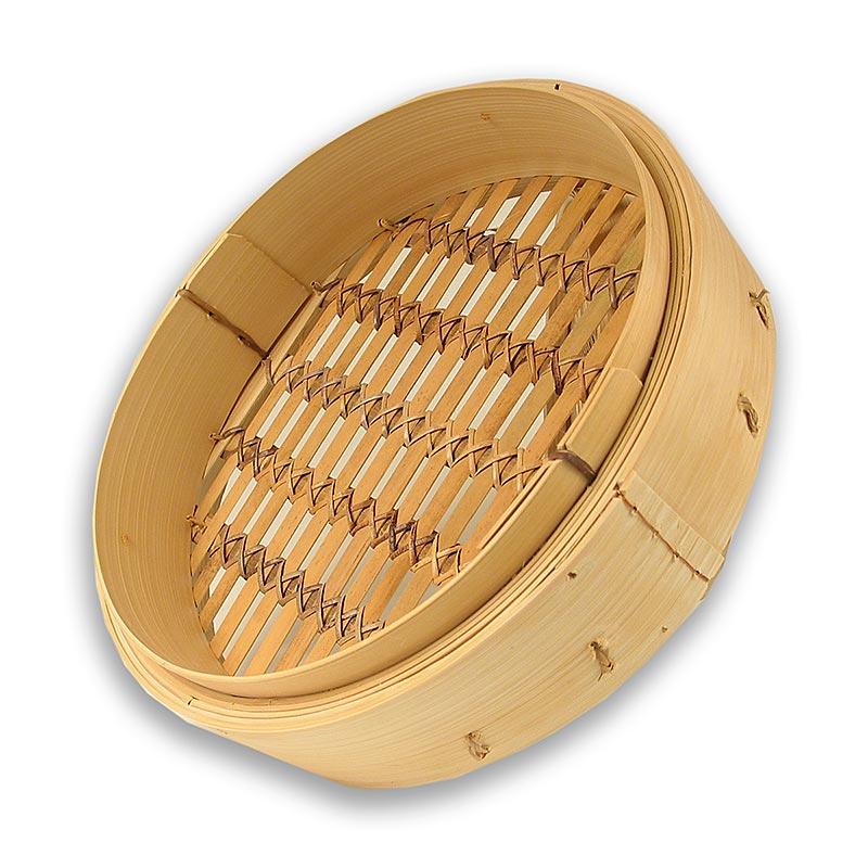Unterteil Bambusdämpfer, 35 cm aussen, 33 cm innen, 14,5 inch - 1 St - Lose