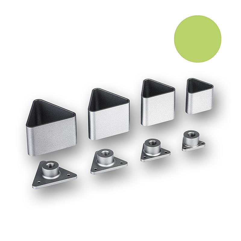 Weller Anrichteset, Gastro Version, rund, dreieckig, oval, quadratisch - 33 tlg. - Box