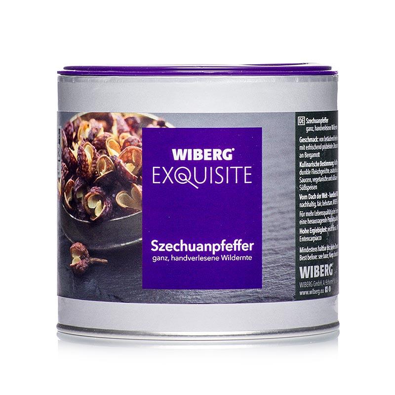 Wiberg Exquisite Szechuanpfeffer, ganz, handverlesene Wildernte - 130 g - Aromabox