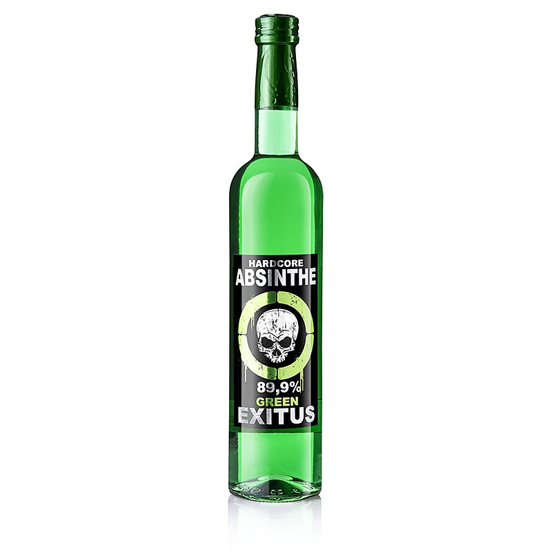 Absinth Green Exitus, Hardcore Absinthe, 89,9% vol. - 500 ml - Flasche