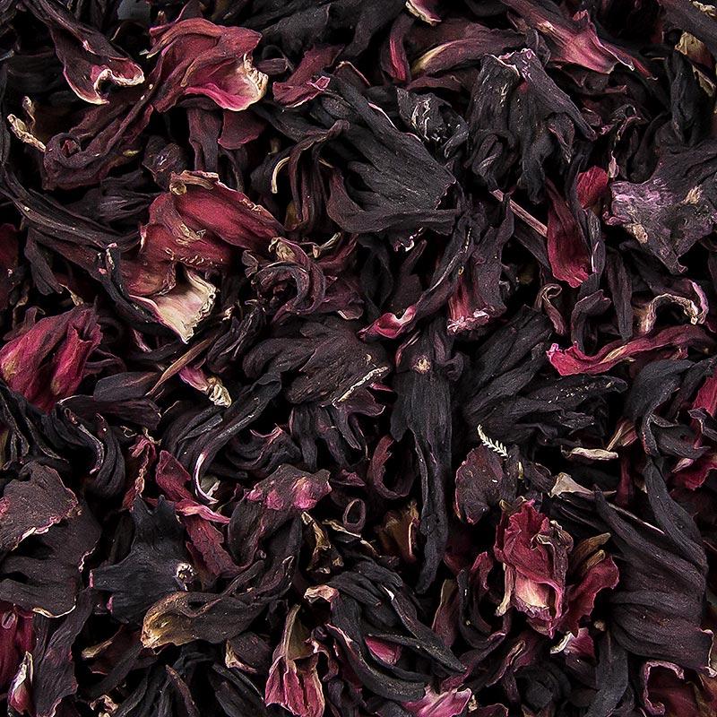 Hibiskusblüten, getrocknet - 100 g - Beutel