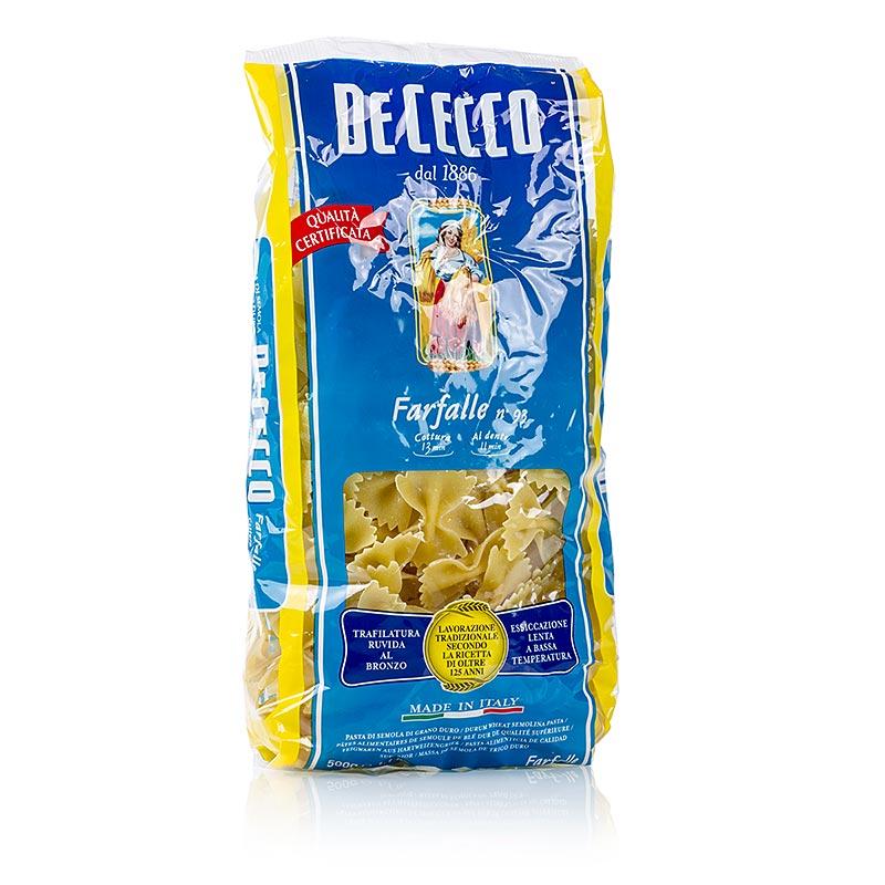 De Cecco Farfalle No.93 - 500 g - Tüte