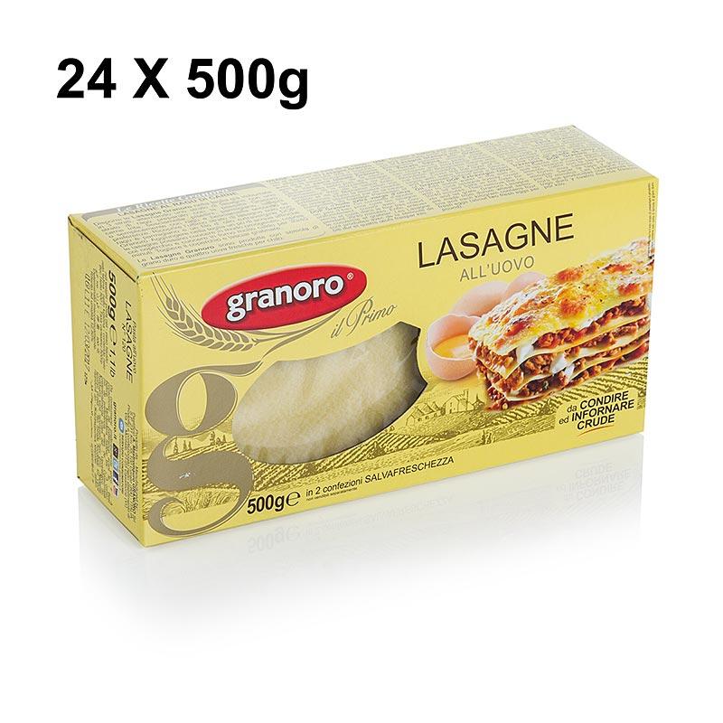 granoro lasagne mit ei 82 x 60 x 1mm 500 g t te. Black Bedroom Furniture Sets. Home Design Ideas