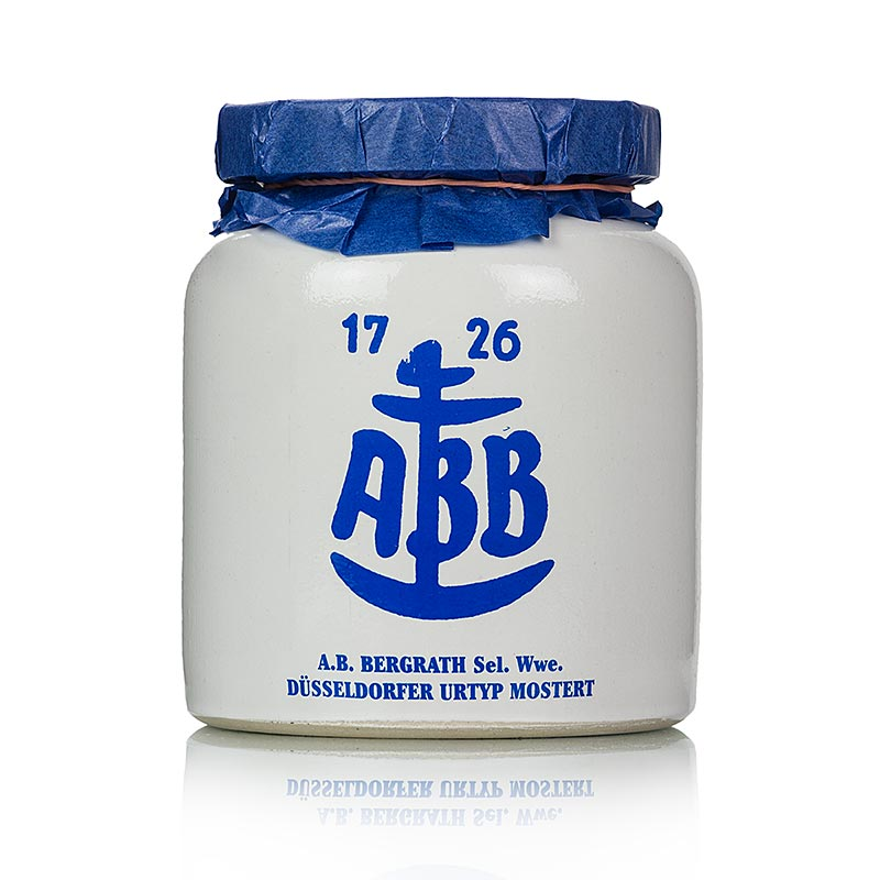 Dusseldorfer ABB-Mustard - The original in Steinkrug, medium sharp - 600 ml - stein