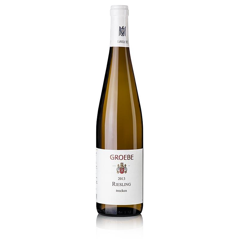 2013er Riesling, trocken, 12% vol., Groebe - 750 ml - Flasche