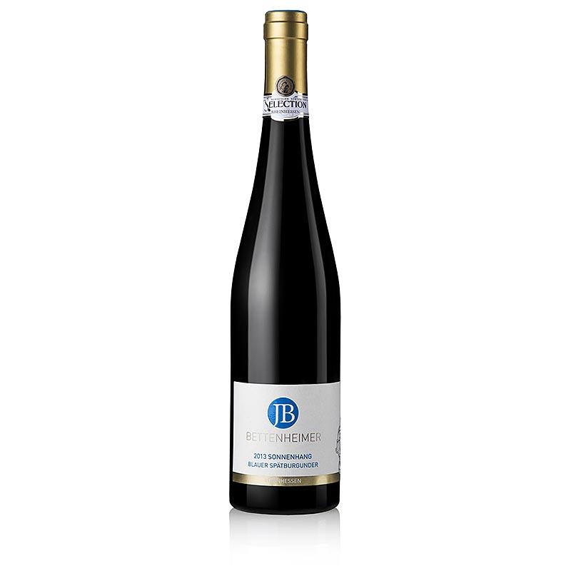 2013 Sonnenhang, Blauer Spätburgunder, 14% vol., Bettenheimer - 750 ml - Flasche