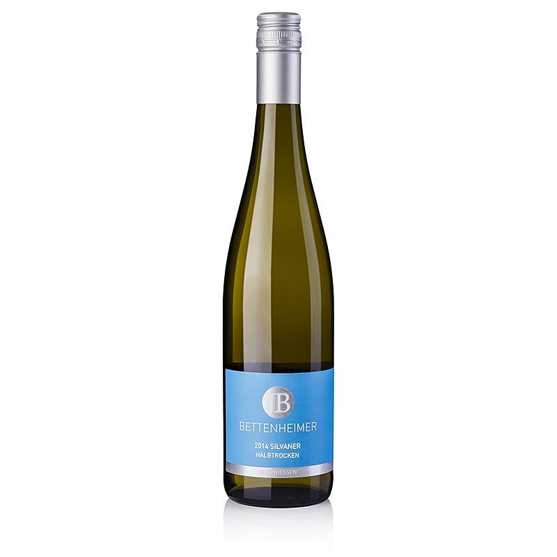 2014er Silvaner, halbtrocken, 12,5% vol., Bettenheimer - 750 ml - Flasche