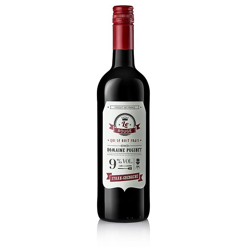 2015er Le Rouge Grilledition, trocken, 9% vol., La Colombette - 750 ml - Flasche