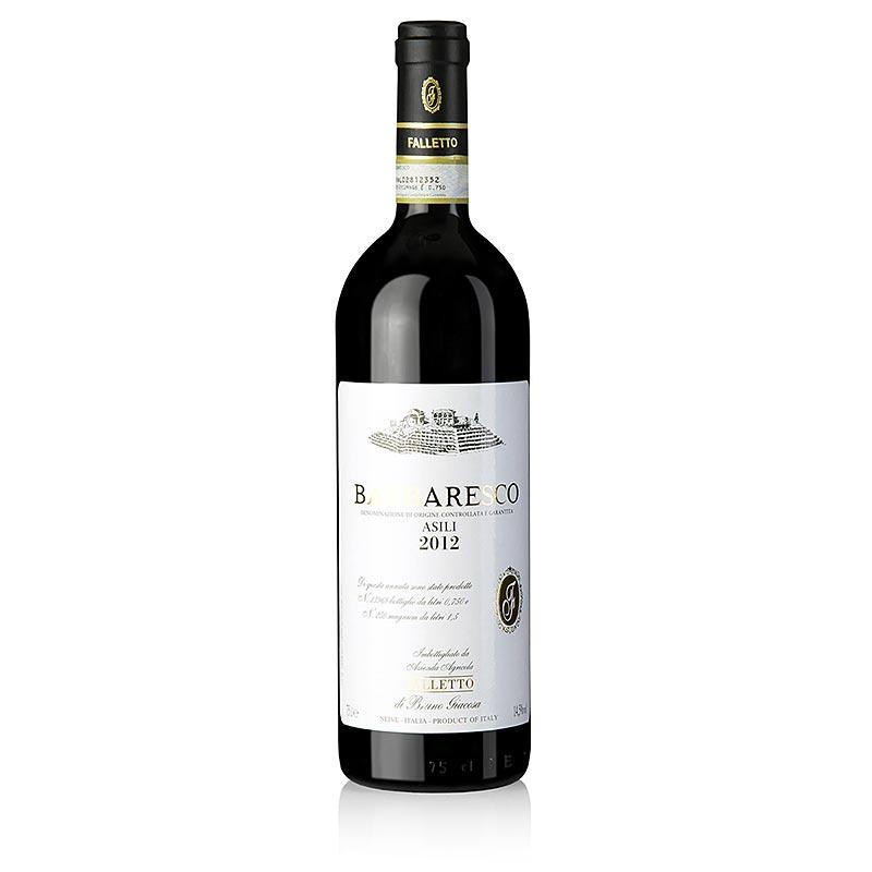 2012er Barbaresco Asili, trocken, 14,5% vol., Bruno Giacosa - 750 ml - Flasche