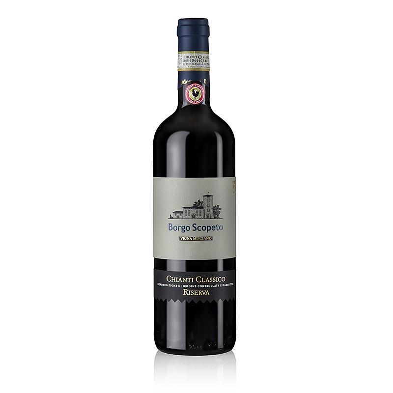 2011er Chianti Classico Riserva Misciano, trocken, 13% vol., Borgo Scopeto - 750 ml - Flasche